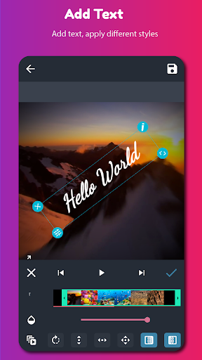 AndroVid - Editor de Vídeo screenshot 7