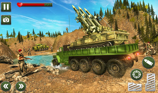 US Army Missile Attack : Army Truck Driving Games 1.2.6 screenshots 11