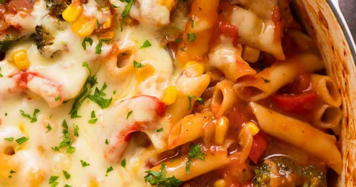 10 Best Frozen Vegetables Pasta Recipes