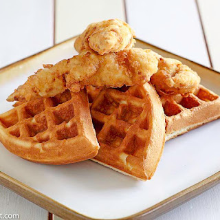 Grand Lux Cafe Chicken N Waffles.
