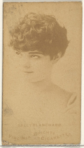 Sally Blanchard, from the Actors and Actresses series (N45, Type 1) for Virginia Brights Cigarettes