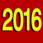 new year 2016‬‏ card‬‏ icon