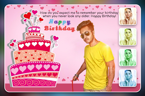 Birthday Photo Frame Editor Greeting Cards Pro Apps On Google Play