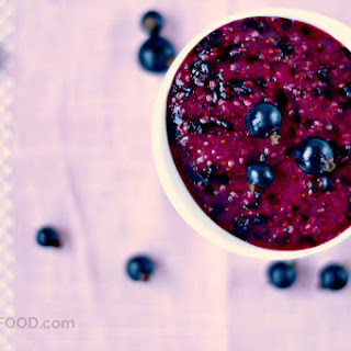 Healthy Blackcurrant Jam