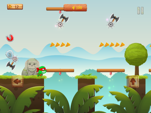 Ninja jump: Mutant kids adventure HD game apkmr screenshots 14