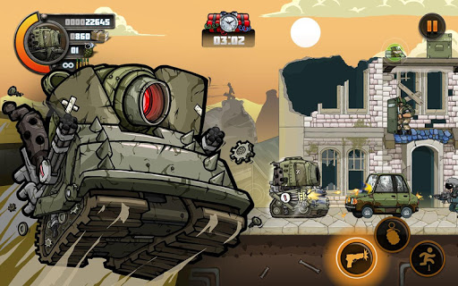 Code Triche Metal Soldiers 2 apk mod screenshots 5