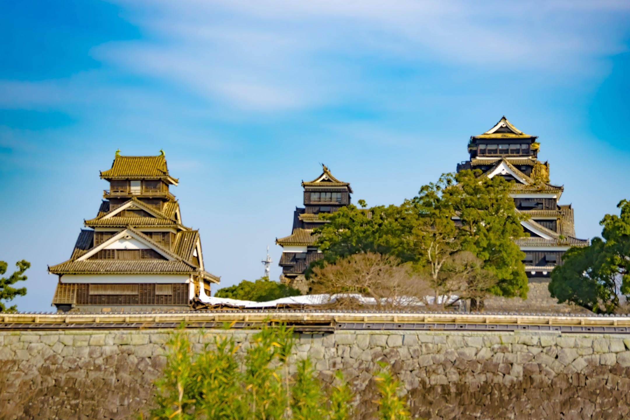 熊本城 二の丸広場 天守1