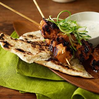 Tandoori Pork on the Outdoor Grill