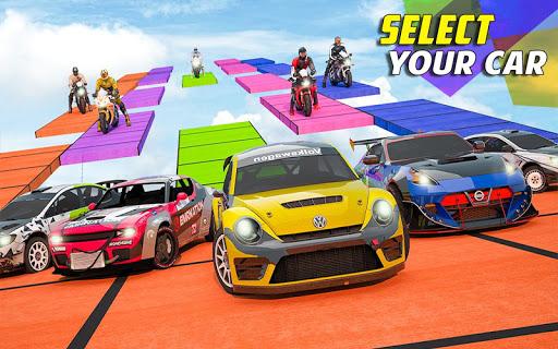 Extreme City GT Cars: Mega Ramp Racing Missions  captures d'écran 1