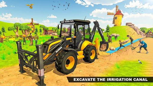 Virtual Village Excavator Simulator apkpoly screenshots 3