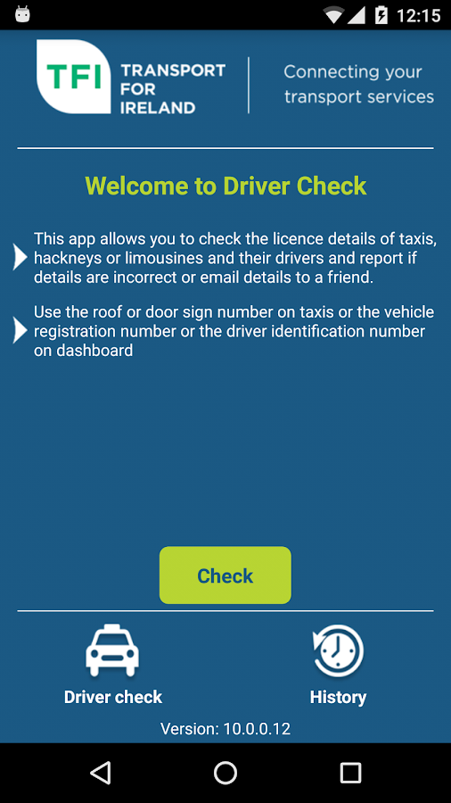 Driver Check- screenshot