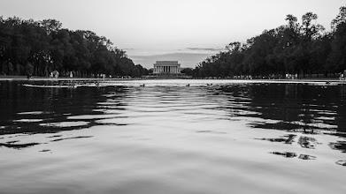 Photo: Ducks at the Lincoln Memorial -- Washington, D.C.