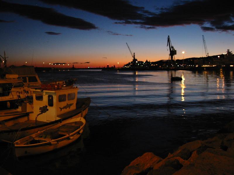 Barche al tramonto di VeraWilma