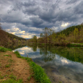 * by Mehmed Mestanov - Landscapes Waterscapes ( water, trees, reflections, miror, landscape, river )