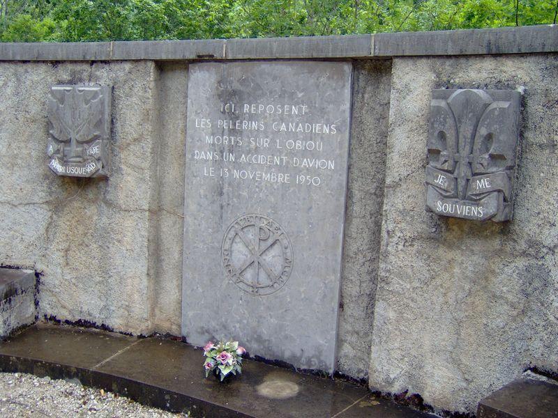 Memorial de l'accident de l'Obiou