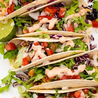 Skinny Baja Chicken Tacos.