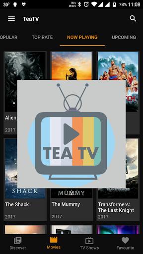 TeaTV - TV and Movie Info 1.0 screenshots 2