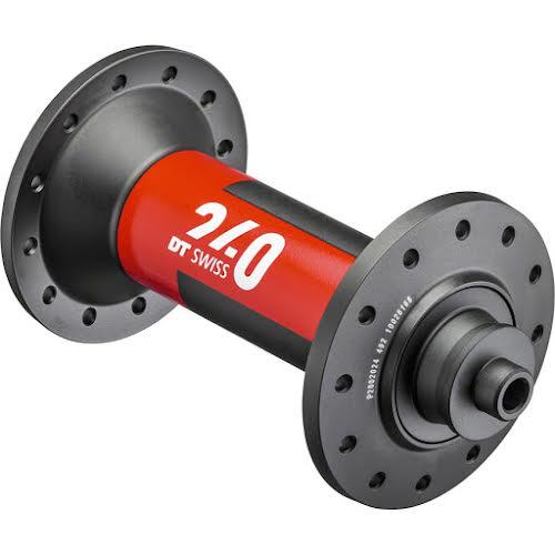 DT Swiss 240 EXP Front Hub - QR x 100mm, 24h, Black/Red