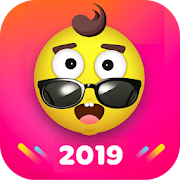 Fancy Launcher - Funny Emojis && Stickers, Themes