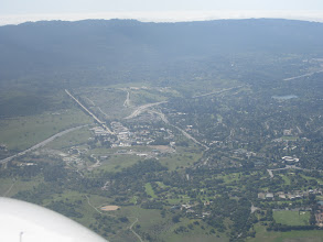 Photo: Pointed toward upper Portola Valley, and note to the left is the SLAC National Accelerator Laboratory