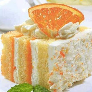 Orange Dreamsickle Cake