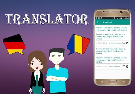 German To Romanian Translator - náhled