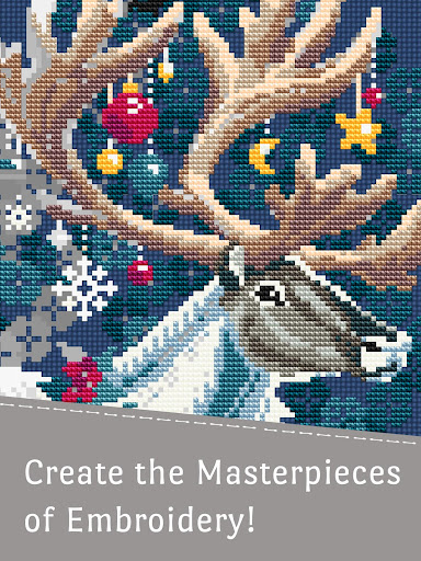 Cross Stitch Club u2014 Color by Number with a Hoop screenshots 9