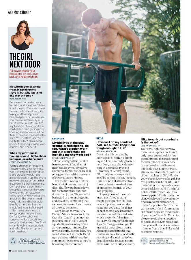 Men's Health- screenshot