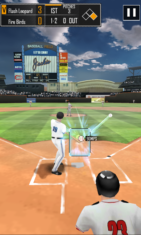 Real Baseball 3D- screenshot