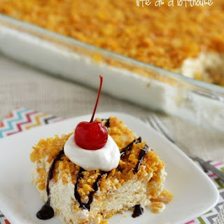 "Mexican ""Fried"" Ice Cream Dessert"