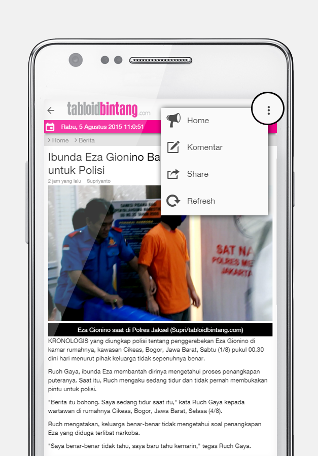 TabloidBintang.Com- screenshot