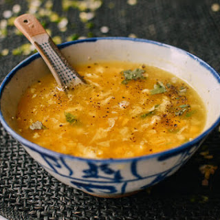 Chicken Corn Egg Drop Soup