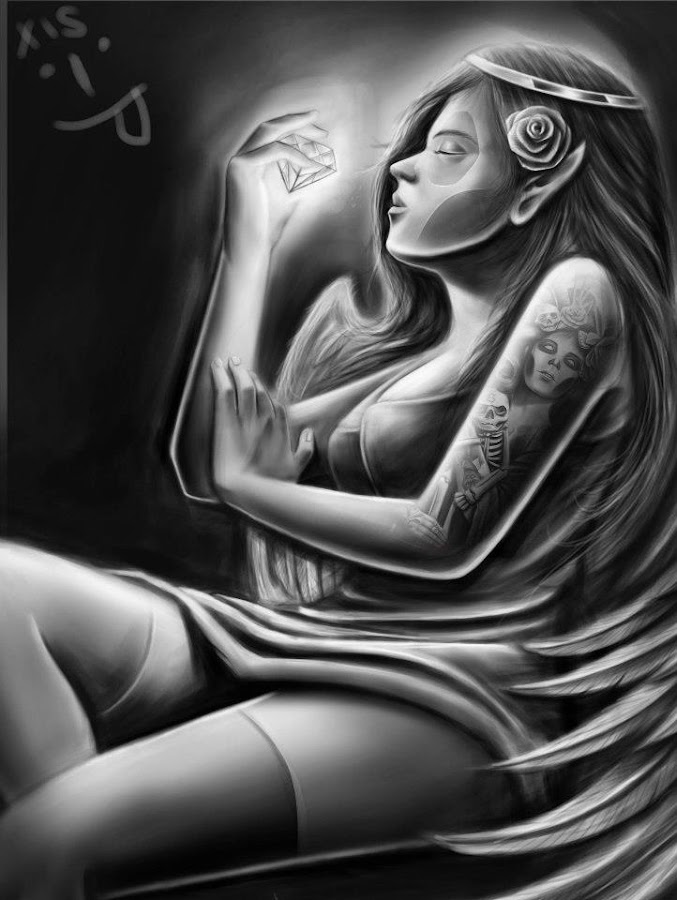 shes my wife by Joseph Pisedas - Drawing All Drawing