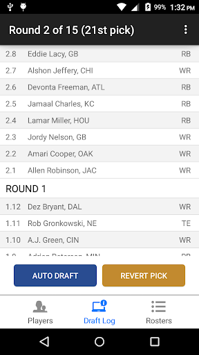 Fantasy Football Draft Wizard screenshot 5