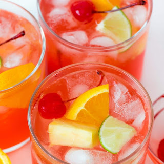 Fruity Vodka Party Punch.