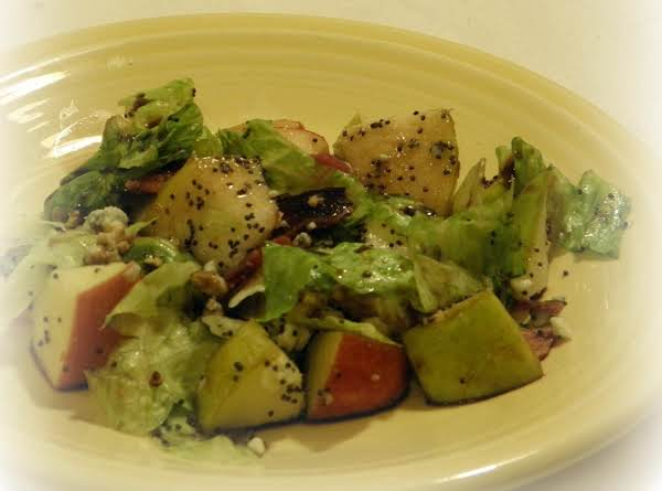 Chopped Autumn Salad W/ Poppyseed Dressing Recipe