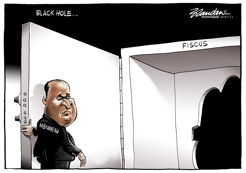 CARTOON: Black hole in the fiscus