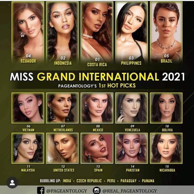 Tín hiệu đáng mừng cho mỹ nhân Việt chinh chiến Miss Grand: Được dự đoán lọt Top, nơi tổ chức tăng phần lợi thế? - Ảnh 4.