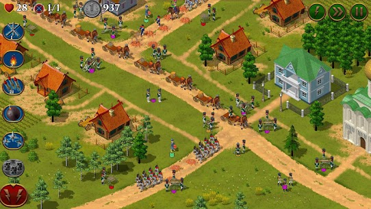 1812. Napoleon Wars TD Tower Defense strategy game Mod Apk Download For Android 7
