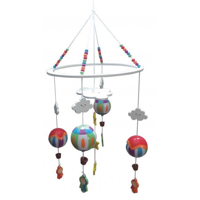 Mobil med luftballonger