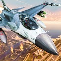 Air Fighting Jet Airplane Games 2021 - Plane Games icon