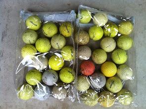 Photo: Golf balls
