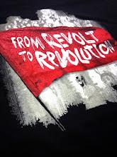 Photo: Teeshirt personnalisé NPA REVOLUTION Sérigraphie Trame