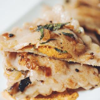 Vegan Pumpkin Ravioli → Recipe