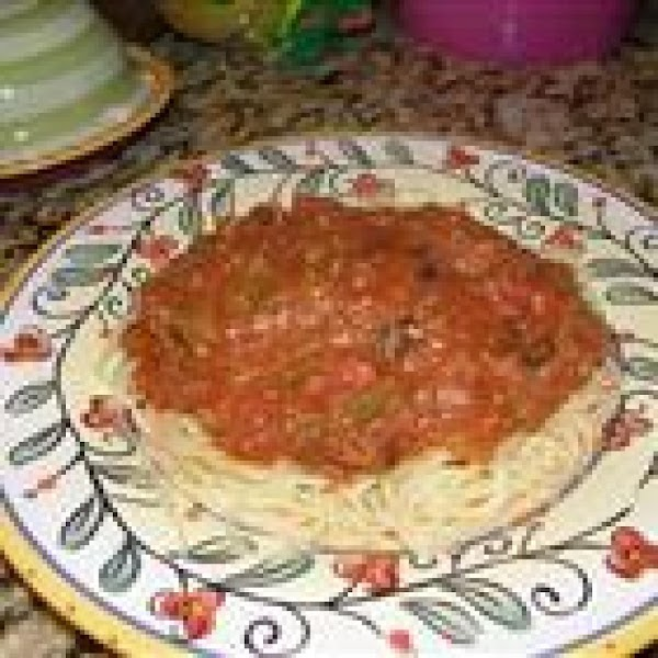 No-salt Spaghetti Sauce Recipe