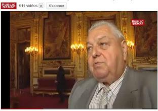 Photo: 10/06/11 Claude Biwer...Sénateur Meuse (Lorraine). Membre de la commission de l' économie, du développement durable et de l'aménagement du territoire. http://www.youtube.com/watch?v=SFIP7FTzKzc