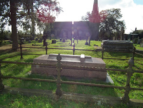 Photo: Wyley and Ashton Tombs in churchyard