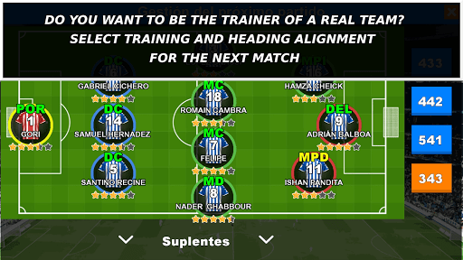 MANAGER REAL FOOTBALL - THIS IS NOT A GAME screenshots 1