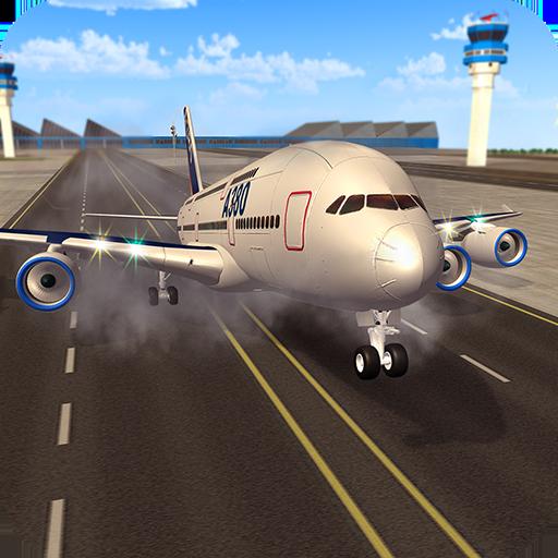Airplane Landing Flight Simulator Academy