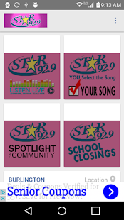 Star 92.9- screenshot thumbnail